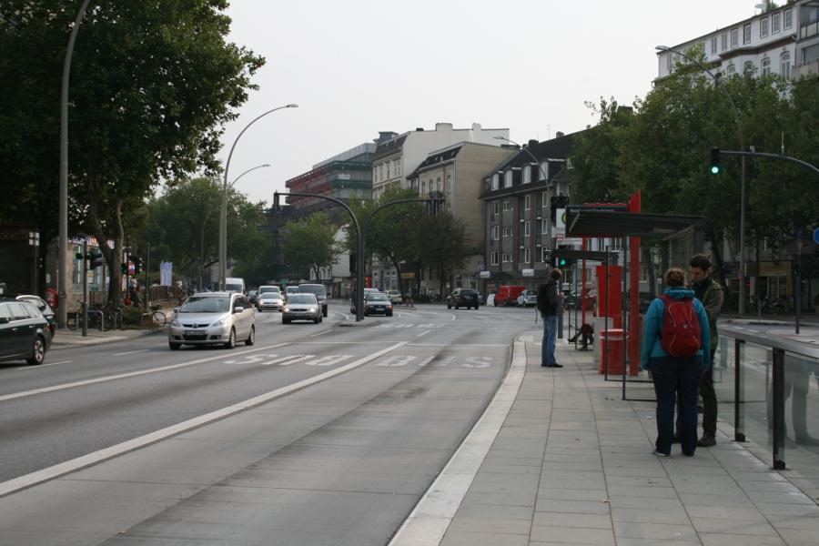 Bauarbeiten am Grindelberg
