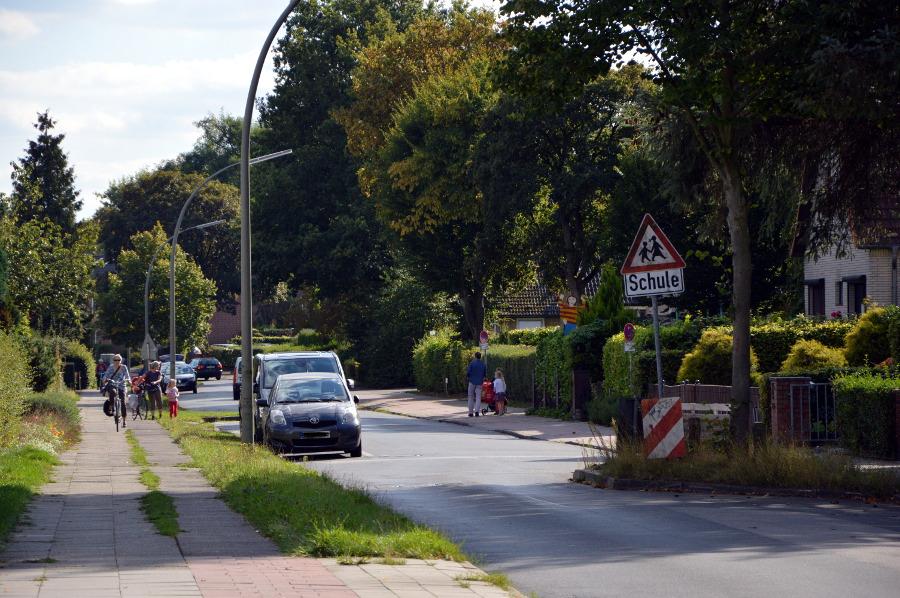 Belebtes Treiben im Redingskamp. Foto: Henrike Hapke
