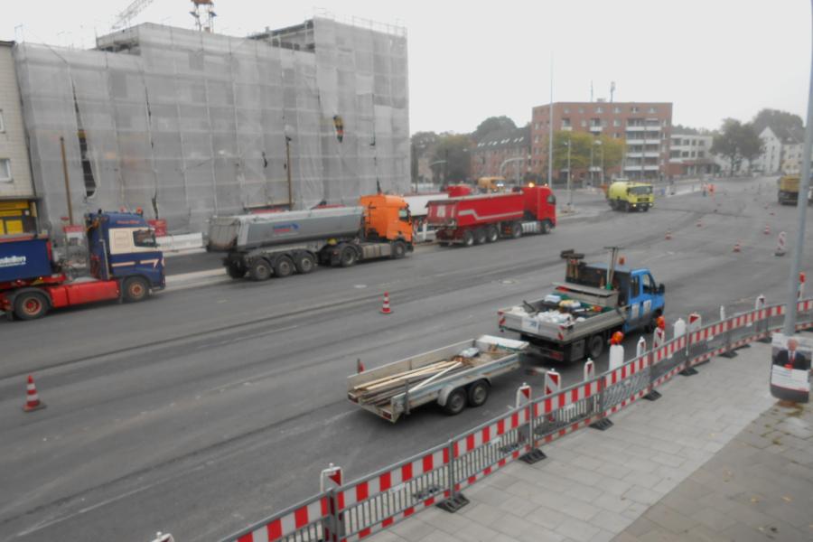 Kieler Straße von Nr. 421 aus. Foto: Anja von Bihl