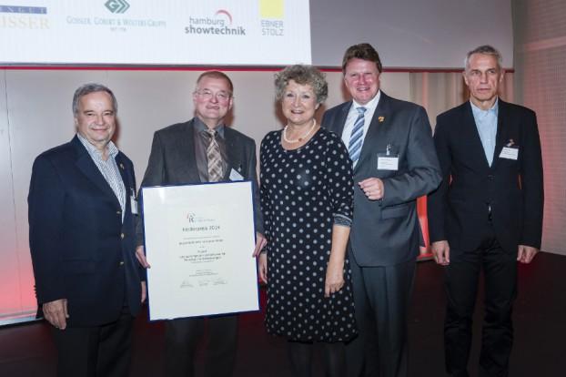 Die Judo-Abteilung des Eimsbütteler Turnvereins erhielt den 1. Preis. Foto: Kroschke Stiftung.
