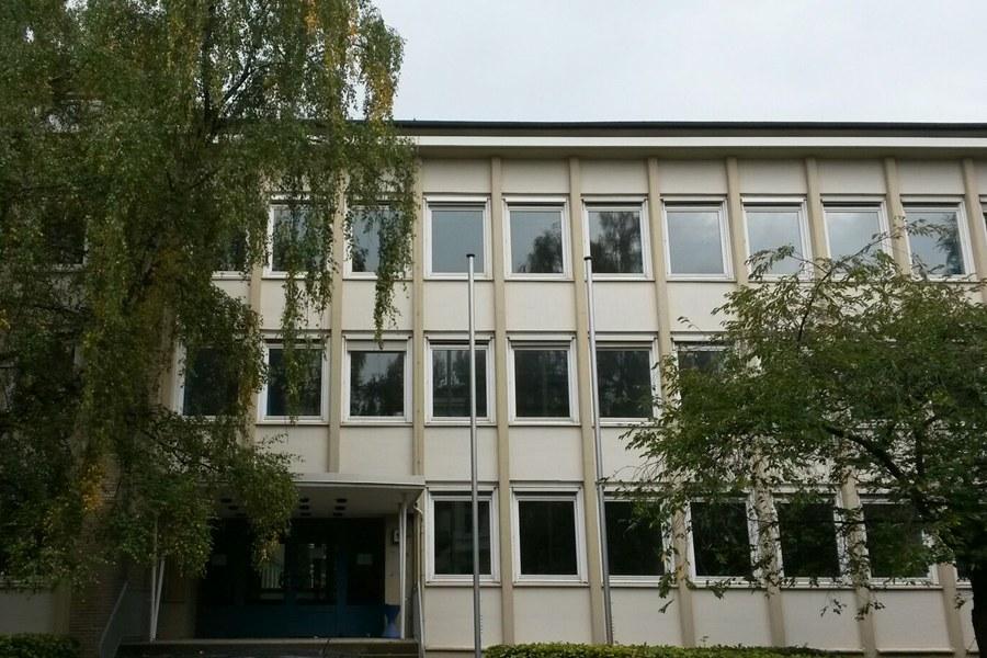 Das ehemalige Kreiswehrersatzamt an der Sophienterrasse 1a. Foto: Berit Köhler.
