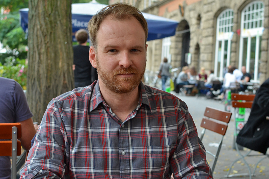 Stéphane Lefleur zeigt seinen dritten Film beim Filmfest Hamburg. Foto: Patricia Batlle