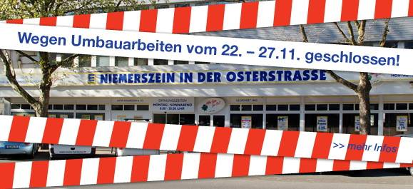 Edeka Niemerszein schließt für einige Tage wegen Umbau. Foto: Edeka Niemerszein/Facebook