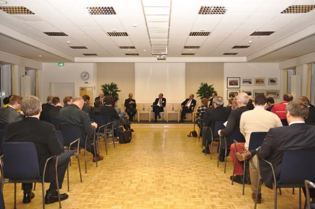 Die 9. Wirtschaftskonferenz im Bezirksamt Eimsbüttel. Foto: Tim Eckhardt