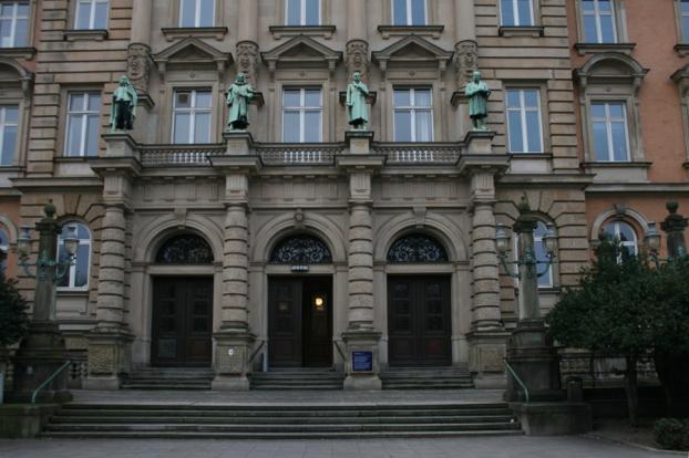 Landgericht Hamburg. Foto: Anja von Bihl