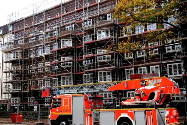 Im Obergeschoss des Wohnhauses ist am 4. November ein Brand ausgebrochen. Foto: Lisa Eißfeldt