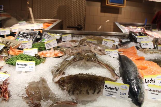 Die Fischtheke ist die größte Neuheit nach dem Umbau. Foto: Franziska Martin