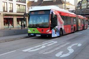 Die Metrobus-Linie 5 wurde im Rahmen des Busbeschleunigungsprogramms bereits umgebaut. Foto: Lisa Eißfeldt