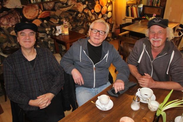 Die Gruppe Gutzeit (v.l.) Peter Horn, Peter Gutzeit und Dieter Rentzsch. Foto: Katharina Kuhn