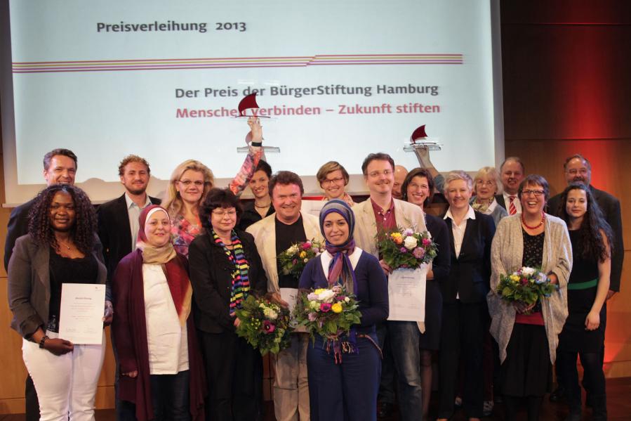 Nominierte und Preisträger 2013. Foto: Kirsten Haarmann.