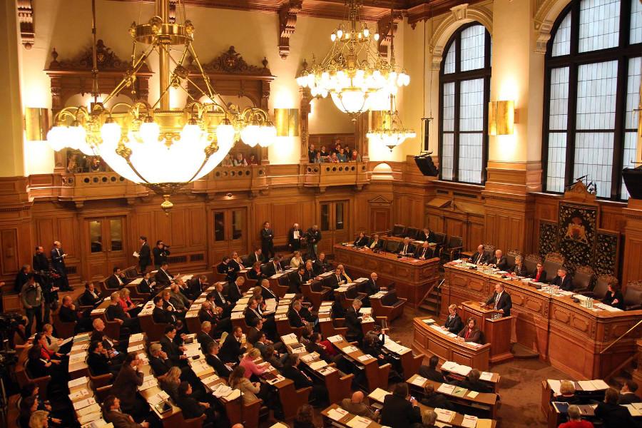 Bürgerschaft ändert Verfassung für Olympia-Referendum