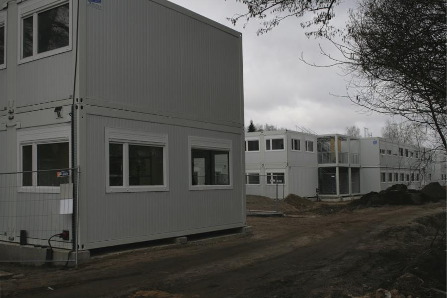 Flüchtlingsheim in der Niendorfer Straße eröffnet
