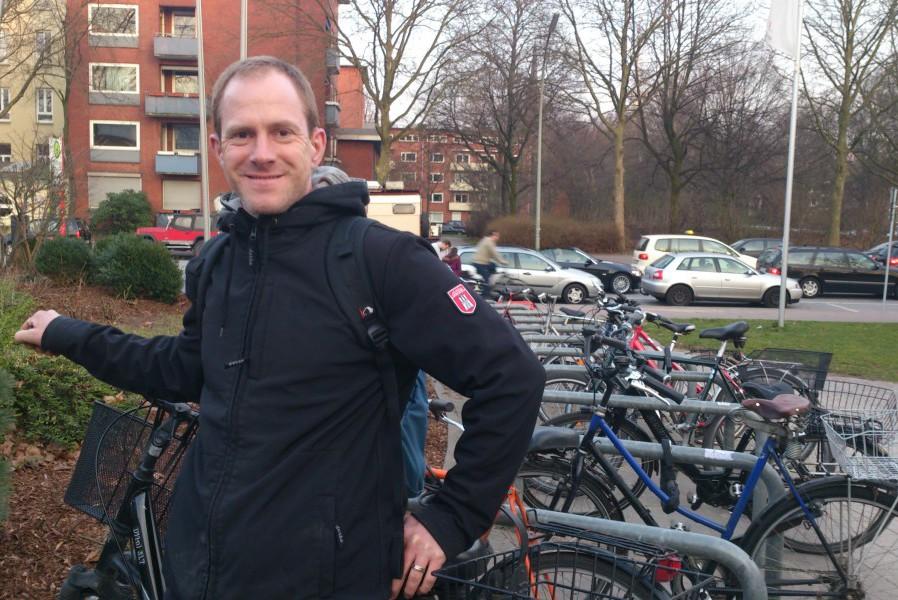 Kai Ammer wünscht sich die Osterstraße autofrei. Foto: Annika Demgen