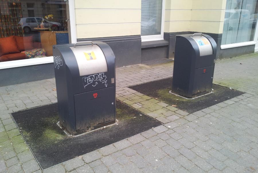 Unterflursystem der Stadtreinigung- Müll Foto: Jan Hildebrandt