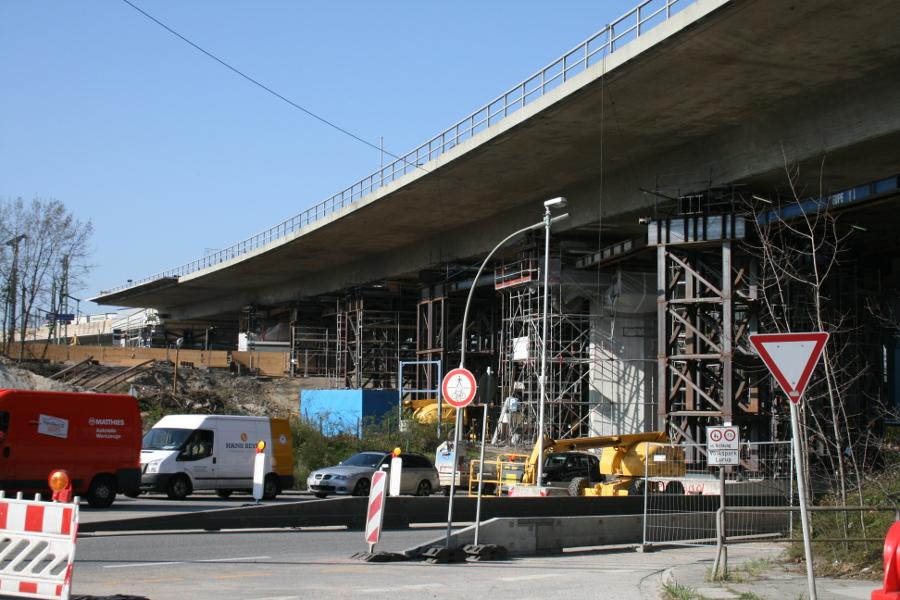 A7-Langenfelder Brücke: Tunnel zur S-Bahn gesperrt