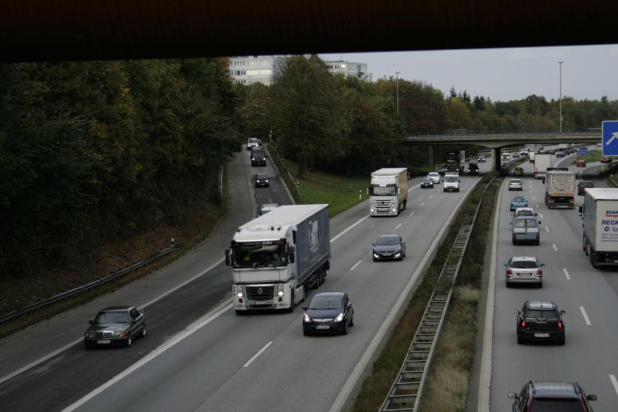 """Autobahndeckel: A7-Auffahrt """"Schnelsen"""" bis 2018 gesperrt"""