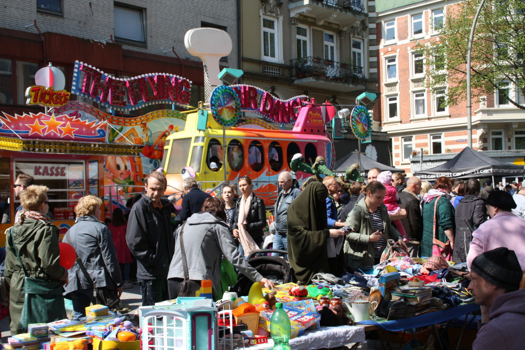 Das Osterstraßenfest findet an diesem Wochenende statt. Foto: Agathe Bogacz