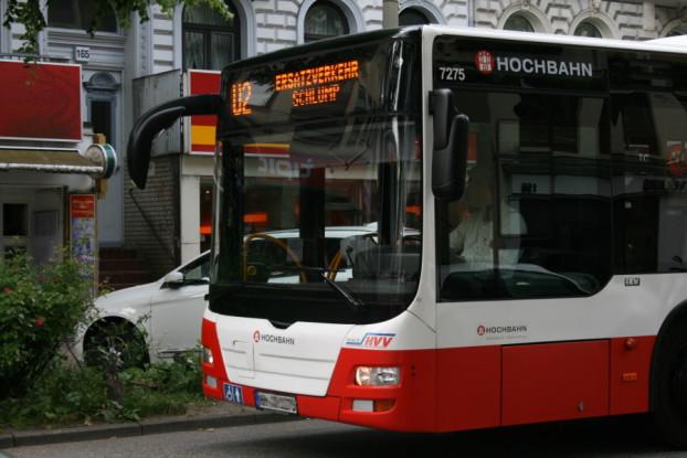 U2 Busersatzverkehr (Symbolbild) Foto: Anja von Bihl