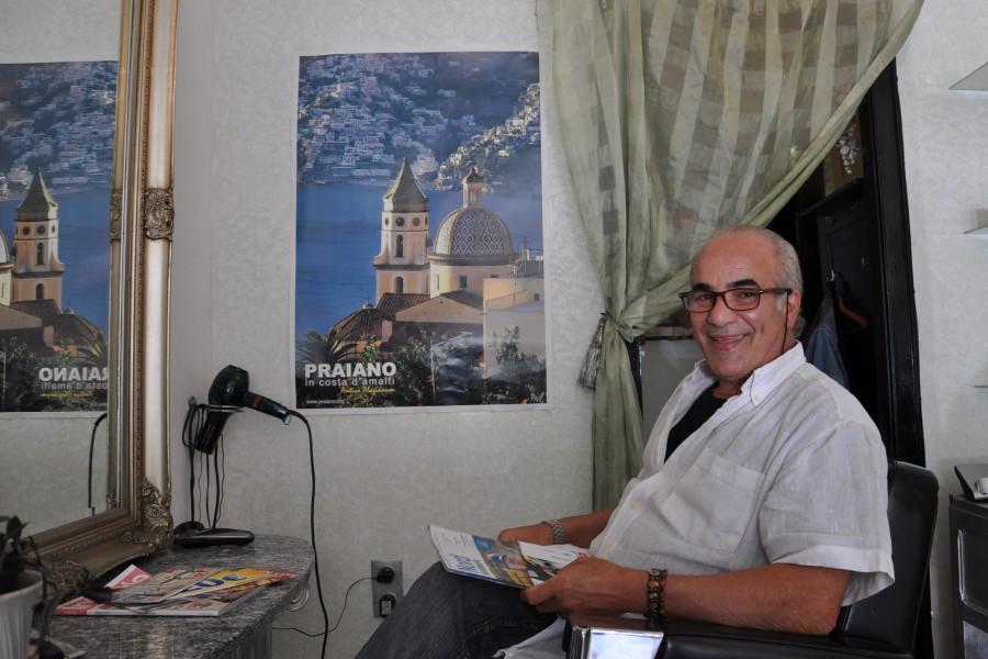Luigi De Rosa versorgt Herma Tokmann jeden Tag. Foto: Rebecca Winkens