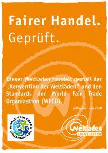 Logo Fairer Handel Geprüft