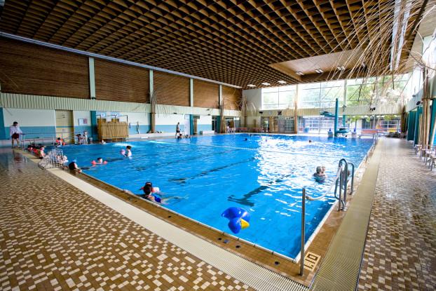 Mehrzweckhalle im Schwimmbad Bondenwald. Foto: Bäderland Hamburg