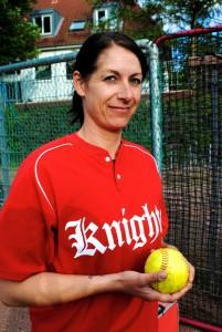 Ela ist nur für Softball aus Kiel nach Hamburg gezogen und bereut es kein bisschen. Foto: Lea Freist