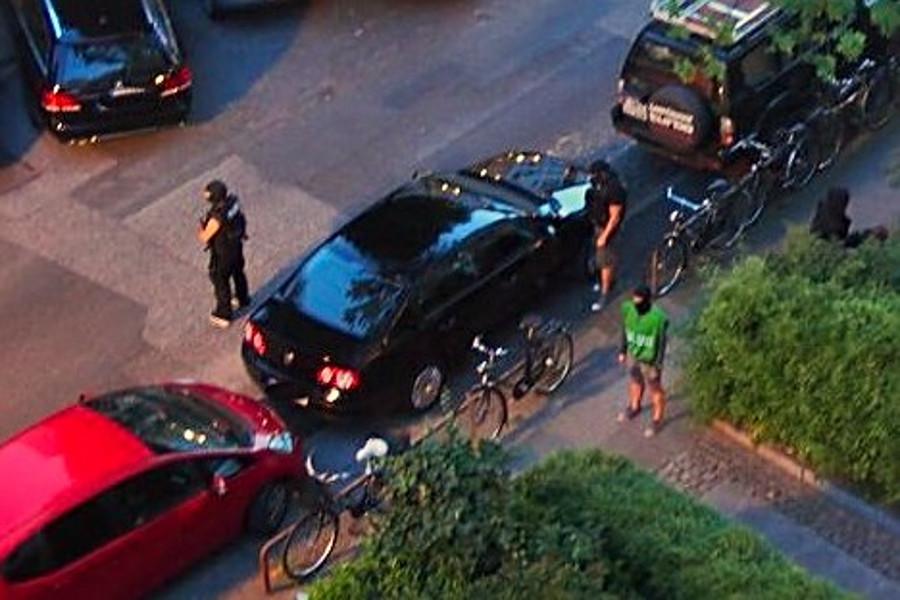 Drogenfahnder in der Eichenstraße