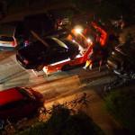 Das Auto wird schließlich abgeschleppt. Foto: Eimsbütteler Nachrichten