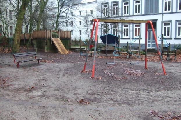 Am Montag werden neue Pläne für den Spielplatz Schäferstraße/Kloksweg vorgestellt. Foto: Naumann Landschaft