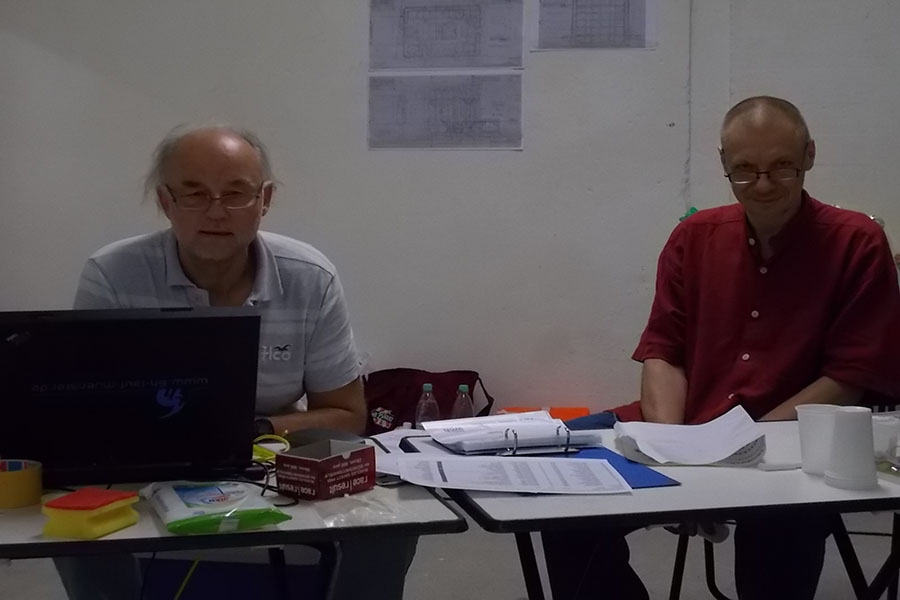 Bei Ausfall des elektronischen Rundenzählers wurden auch mal kurzzeitig Strichlisten geführt. Foto: Lena Jürgens