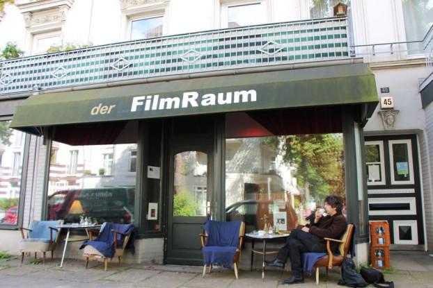 Der Filmraum in der Müggenkampstraße. Foto: Lukas Gilbert