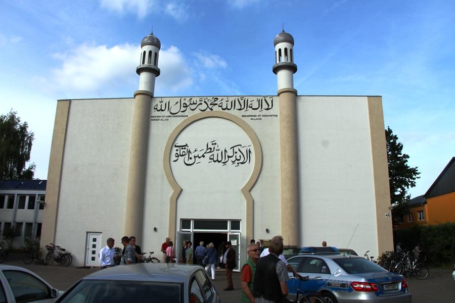 In der Bait-ur-Raheem Moschee wurde über die geplante Unterkunft diskutiert. Foto: Lukas Gilbert