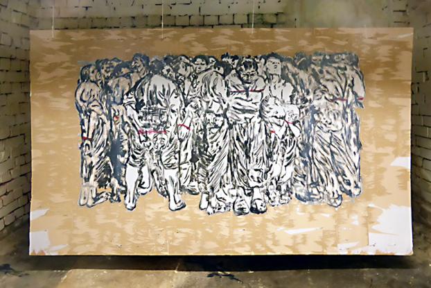 Hier gibt es vielfältige Kunst zum Thema Tatort zu sehen. Foto: KOTTWITZKeller