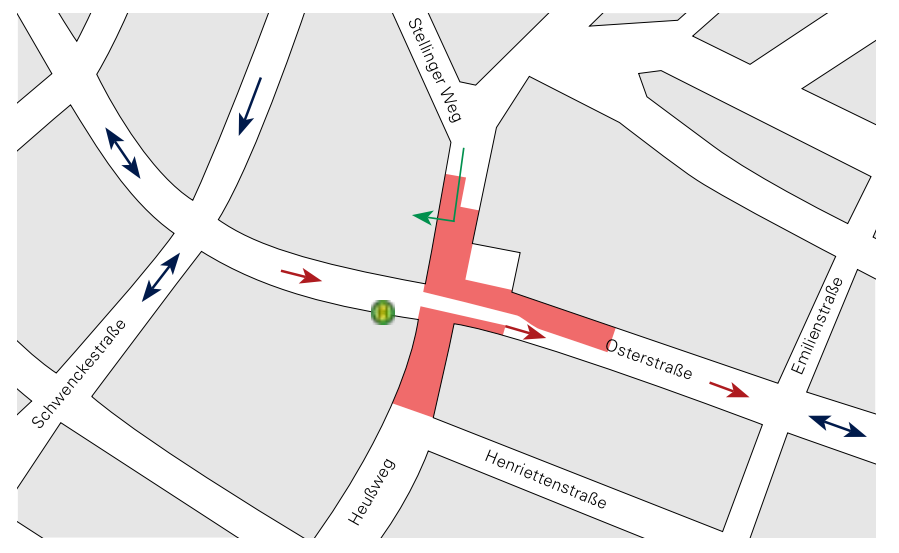 Teilabschnitt 3 Grafik: Fokus Osterstraße Nr. 4