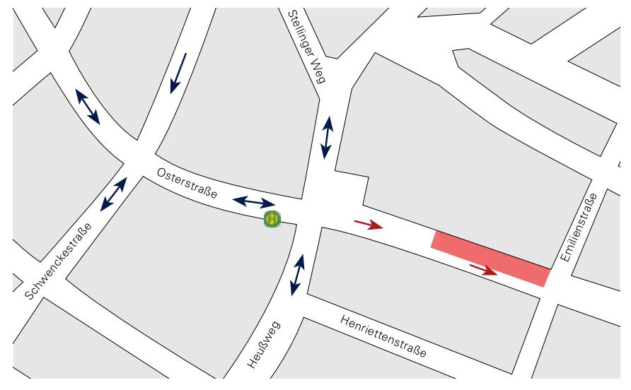 Teilabschnitt 4 Grafik: Fokus Osterstraße Nr. 4