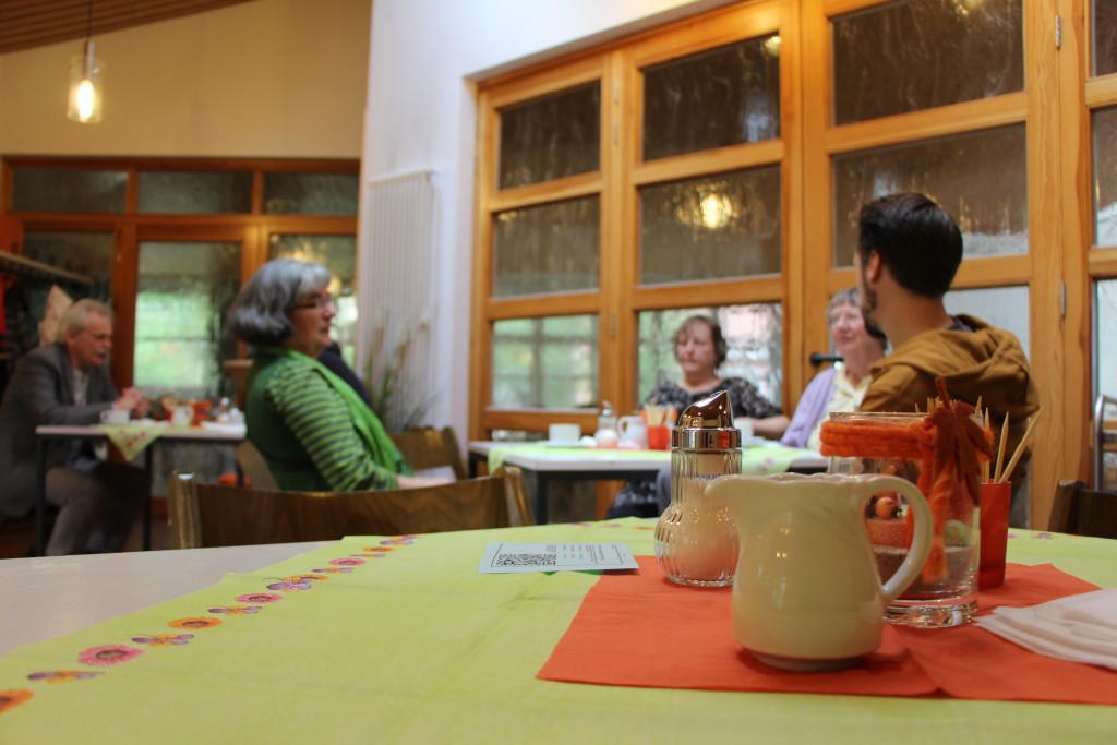 Integration bei Kaffee und Kuchen