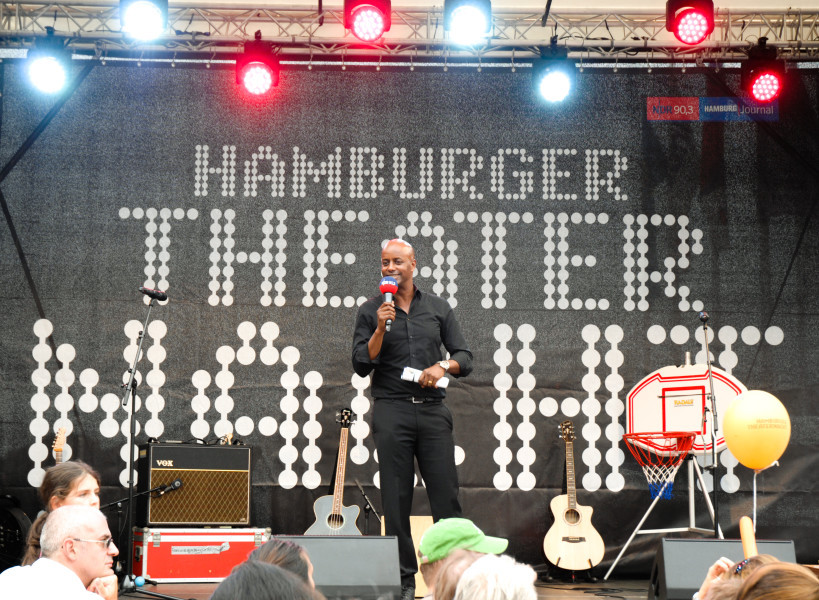 Theaternacht goes Open Air. Foto: Pressefoto der Hamburger Theaternacht, Yared Dibaba
