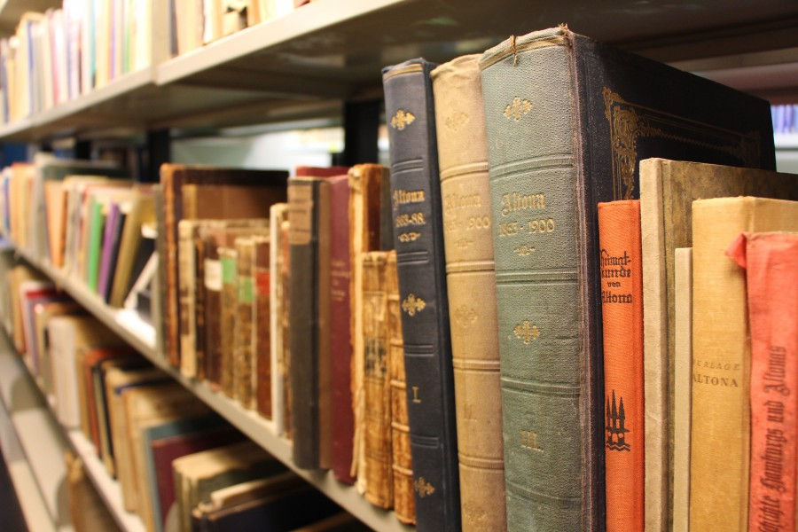 Alte Bücher. Foto: Julia Dziuba