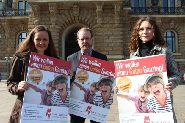 """Die Initiative """"Guter Ganztag"""" ist im April gestartet. Foto: Annika Demgen"""