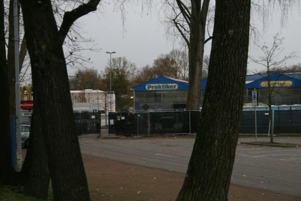 Notunterkunft Hörgensweg. Foto: Anja von Bihl