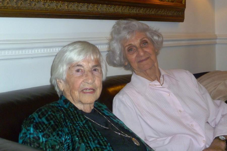 Die beiden Auschwitz-Überlebenden waren bei der Befreiung aus dem KZ 20 Jahre alt. Foto: Helga Obens