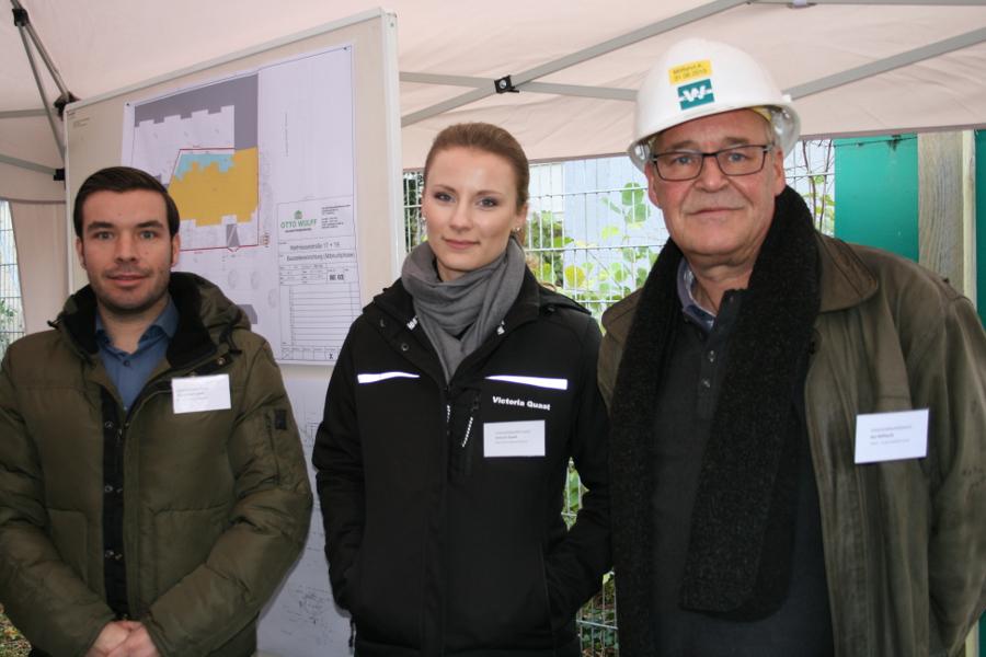 Charly Gretemeier und Victoria Quast von Otto Wulff, Kai Willfahrt von Wilko Wagner. Foto: Anja von Bihl