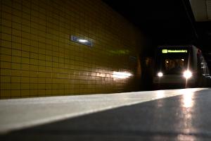 Die U-Bahn-Linien in Eimsbüttel sind ab 2018 barrierefrei. Foto: Dennis Imhäuser