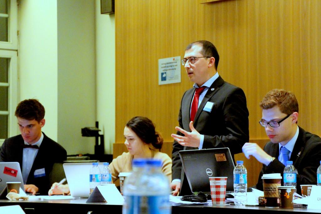 Weltpolitik in Hamburg: Studenten simulieren UN-Konferenzen