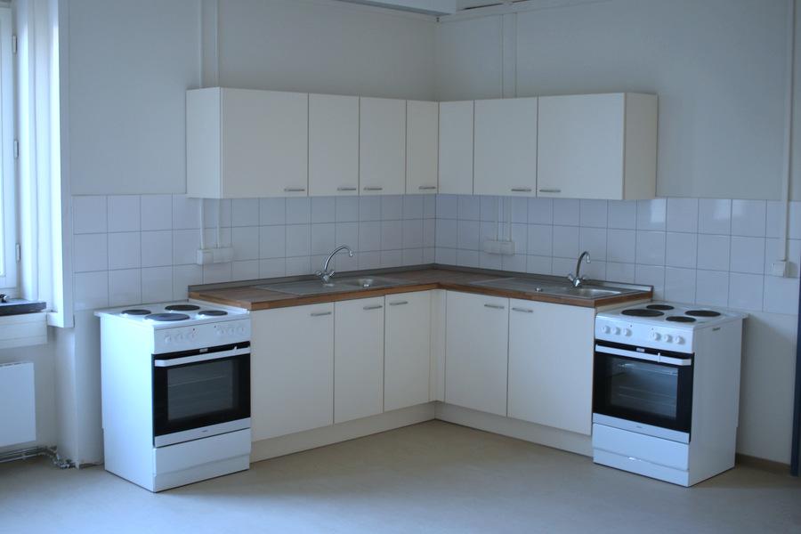 Küche für eine größere Wohnung Foto: Fabian Hennigh