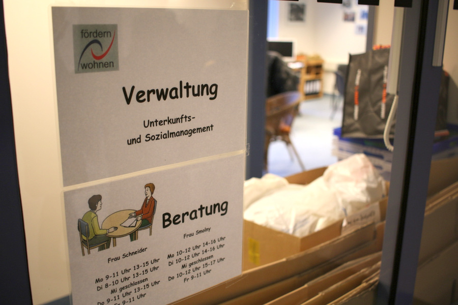 Büros der Fördern und Wohnen-Mitarbeiter Foto: Fabian Hennig