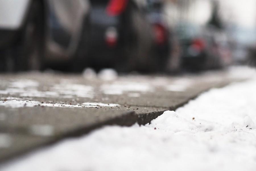 Winterdienst: Schneeräumen in Eimsbüttel