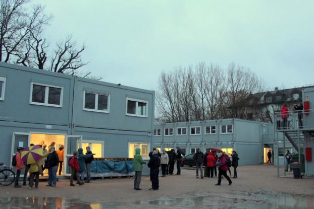 Begehung der Kölln-Vogt-Strasse Mitte November Foto: Fabian Hennig