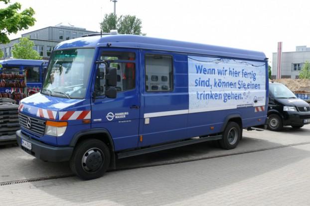 Der Entstörungsdienst von Hamburg Wasser. Foto: Hamburg Wasser