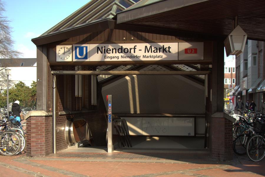 U-Bahn Station Niendorf Foto: Fiona Kleinert